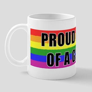 Proud Parent Gay Son Mug