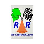 Racing Ready Rectangle Magnet