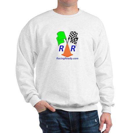 Racing Ready Sweatshirt - Tagline on Back