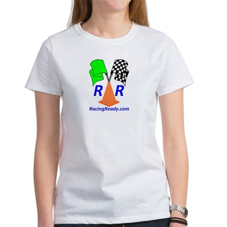 Racing Ready Women's T-Shirt - Tagline on Back