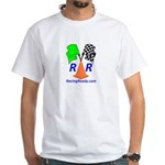 Racing Ready White T-Shirt - Tagline on Back