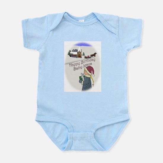 Happy Birthday Baby Jesus Infant Creeper