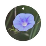 Morning Glory Ornament (Round)