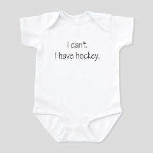 I can't. I have... Infant Bodysuit