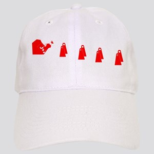 Red and White Flyball BC Cap