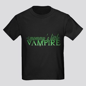 Mommy's little vamp - green Kids Dark T-Shirt