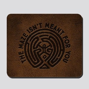WW Maze Isn't Meant For You Mousepad