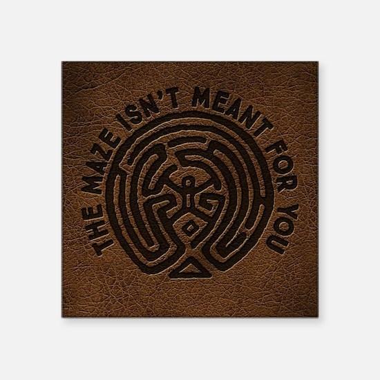 WW Maze Isn't Meant For You Sticker