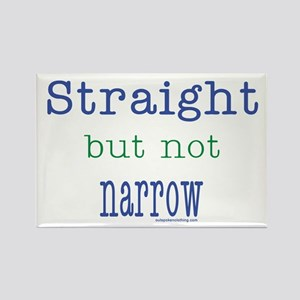 Straight but Not Narrow Rectangle Magnet