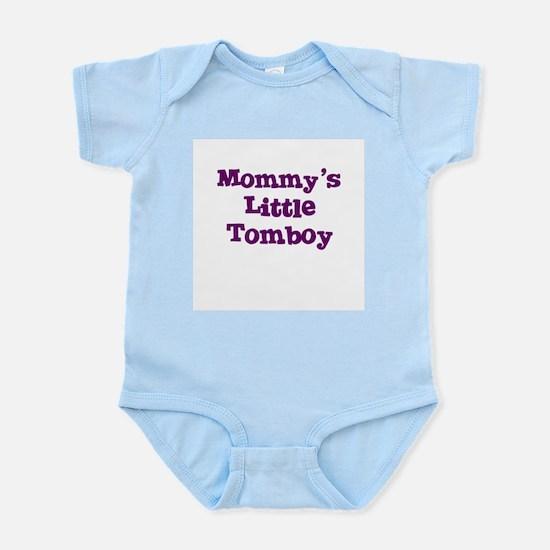 Mommy's Little Tomboy Infant Creeper