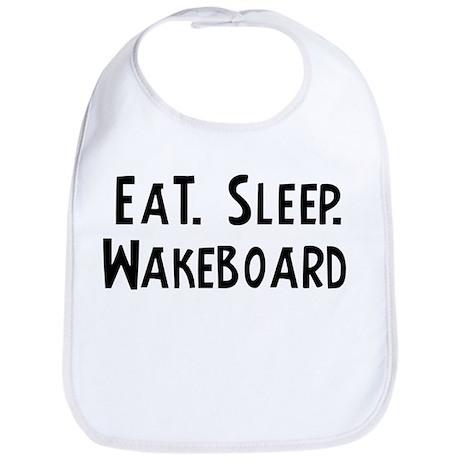 Eat, Sleep, Wakeboard Bib