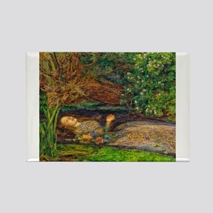 Millais: Drowning Ophelia Magnets