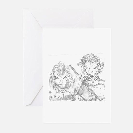 Veteran Battle Elves Greeting Cards (Pk of 10)