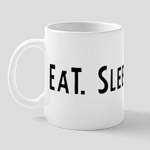 Eat, Sleep, Twirl Mug