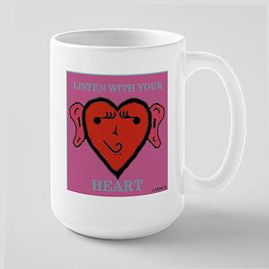 EarHeart Large Mug