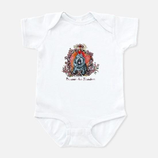 Bouvier Portrait Infant Bodysuit