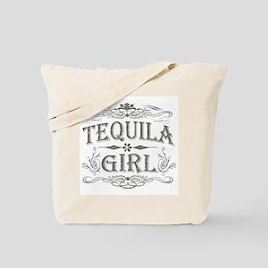 Vintage Tequila Girl Tote Bag
