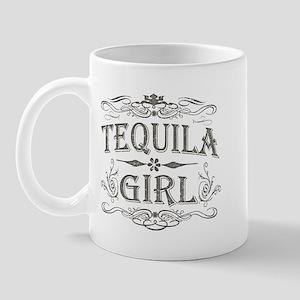 Vintage Tequila Girl Mug