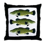 Murray Cod Throw Pillow