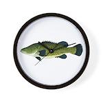 Murray Cod Wall Clock