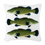 Murray Cod Woven Throw Pillow