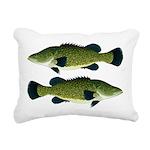 Murray Cod Rectangular Canvas Pillow