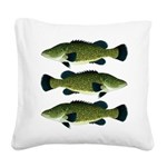 Murray Cod Square Canvas Pillow