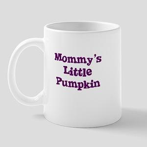 Mommy's Little Pumpkin Mug