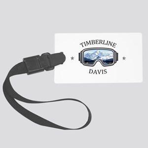 Timberline Four Seasons Resort Large Luggage Tag