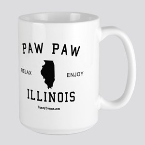 Paw Paw (IL) Illinois T-shirt Large Mug