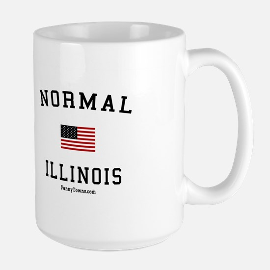 Normal (IL) Illinois T-shirts Large Mug