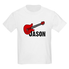 Guitar - Jason Kids T-Shirt