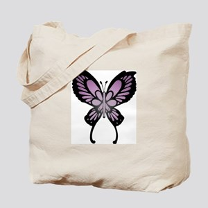 Tote Bag w/Butterfly and Info.
