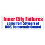 City Failures (Bumper Sticker 50 pk)