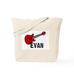 Guitar - Evan Tote Bag