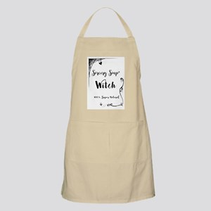 Sorcery Soap Witch 100% Super Natural Light Apron