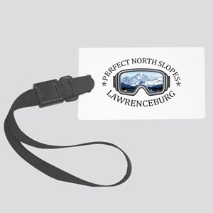 Perfect North Slopes - Lawrenc Large Luggage Tag
