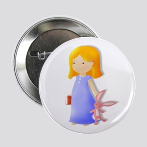 """A story and Rabbit 2.25"""" Button (100 pack)"""