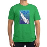 Men's Fitted T-Shirt (dark) DIVING
