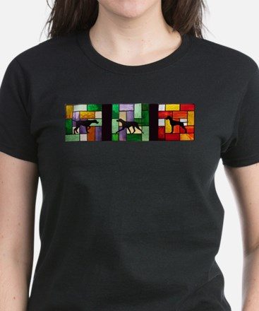 Stained Glass Banner T-Shirt