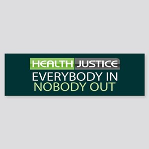 Health Justice Bumper Sticker