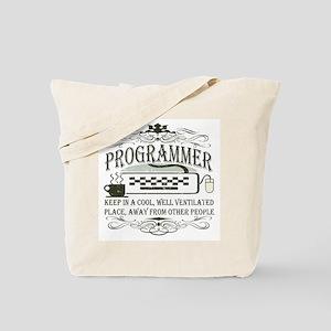 Vintage Programmer Tote Bag