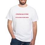 Republican Racist White T-Shirt