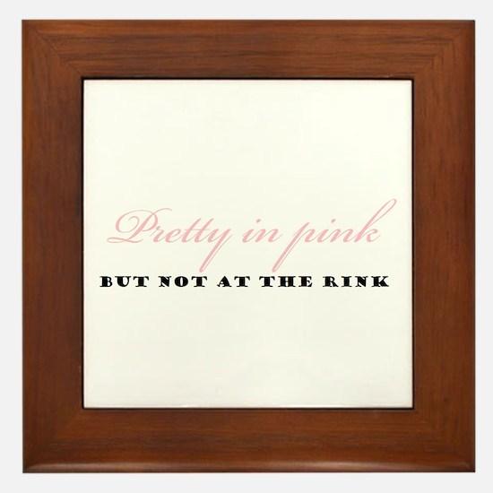 Pretty In Pink Framed Tile