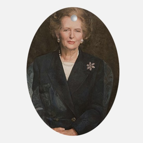 Margaret Thatcher Christmas Ornament