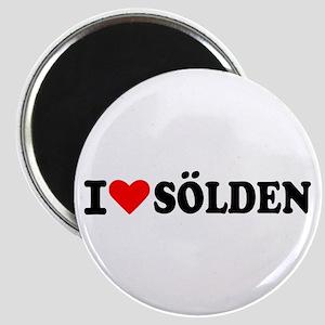 I love Sölden Magnet