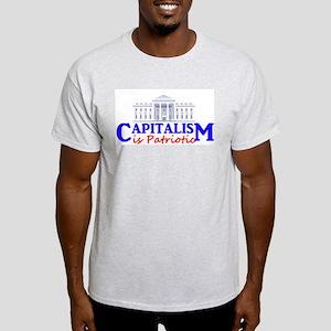 Capitalism is Patriotic Light T-Shirt