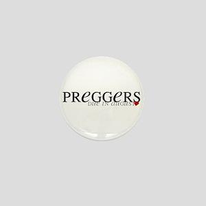Preggers - Aug Mini Button