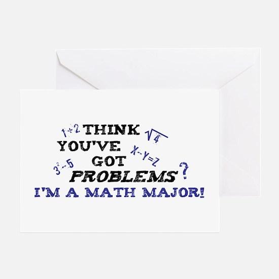 Funny Math Major Greeting Card