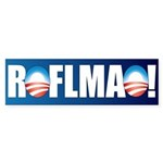 Obama ROFLMAO Bumper Sticker (50 pk)